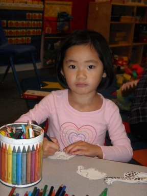 Keira at Preschool