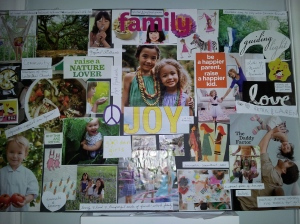 Homeschool Vision Board