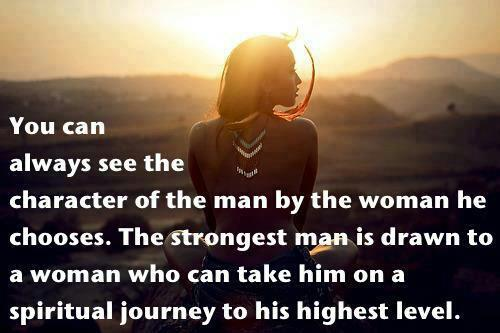 character of a man...