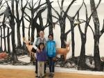 three girls deer